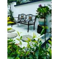 雨花石鹅卵石白色黑色五彩鱼池造景成都