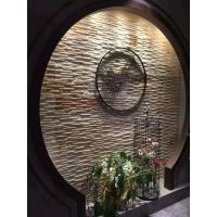 文化石流水石天然板岩水幕墙流水板