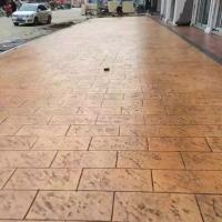 自贡市透水混凝土 透水混凝土施工材料 压模混凝土价格