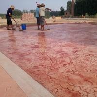 渭南市 压模混凝土价格 透水混凝土胶结料