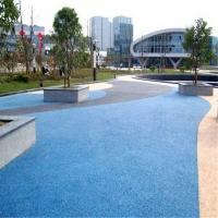 拉萨市 本色透水混凝土 彩色生态透水混凝土厂家 多重优惠