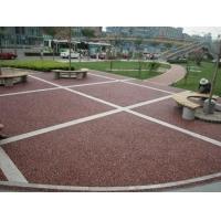 永州市 彩色透水混凝土路面公司 质量放心可靠