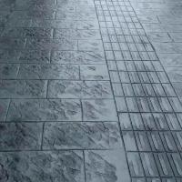 凉山艺术压花地坪 压印水泥路面 彩色混凝土压印路面低至9元