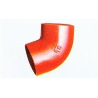抗震柔性铸铁管45度弯头DN50-DN300