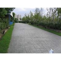 大足 印花地面 压花地坪 彩色水泥压模地坪 生态压模砼地坪
