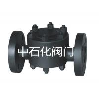 中石化閥門供應高溫高壓圓盤式流水閥