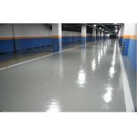 青岛办公室地坪漆施工|胶州小区彩砂透水混凝土喷漆