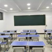 河南三剑单人加固升降学习椅机构培训学生桌椅校具带斗课桌椅