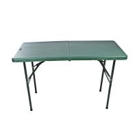 吹塑对折折叠桌手提式箱式餐桌户外作训指挥桌