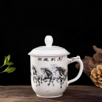 定制纪念礼品茶杯印字