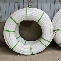 愛塑PE白管注漿管 工程降水管 定制PE白管 廠家批發白PE