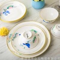 定制主题餐厅餐具套装 餐具套装礼品定制碗盘