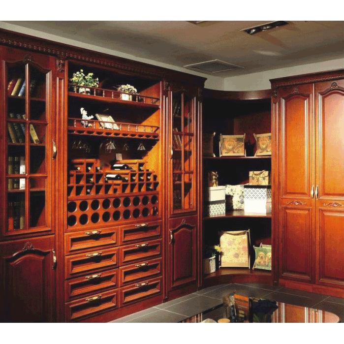 樂山照輝實木整體櫥柜