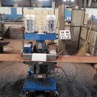 安徽多角度平板銑邊機密齒銑刀盤銑削 坡面光滑無氧化