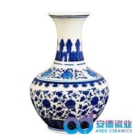 现代家居装饰花瓶 景德镇陶瓷小花瓶 景德镇瓷器花瓶