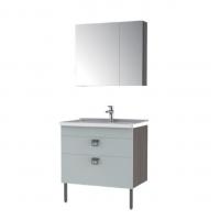 恒洁卫浴 浴室柜HBM506033N-080(晨雾橡木+化石