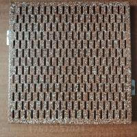 禅城雕花铝板定制 冲孔铝单板定制