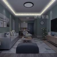 诺帝智能发光顶角线,代替传统石膏线LED发光线条