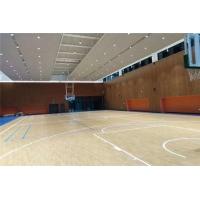羽毛球馆实木地板 篮球馆实木地板