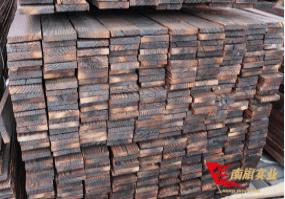 上海 南旗碳化木 花旗松碳化木材 装饰木 表面碳化处理工厂