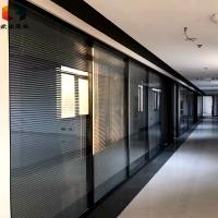 菏泽高隔间|菏泽办公室高隔间|欧诺磨砂玻璃隔断娇娇不群