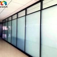 临沂铝型材办公室玻璃隔断墙高隔间屏风