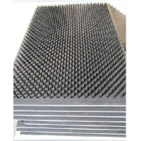定制尼龙丝PVC板刷,塑料板型刷,砖塔冲床平板刷
