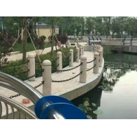 魯興電泳防銹10厘公路景區園林護欄鏈條 鐵鏈制造