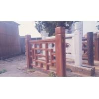 广西百将营护栏仿木护栏产品仿木护栏直销