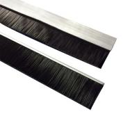 工业机床防尘毛刷条加厚铝合金条刷