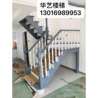 工厂直营整体实木楼梯水泥浇筑别墅楼梯木门衣柜木饰面储藏柜