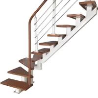 厂家专业定制刚木实木玻璃阁楼复式别墅楼梯木门衣柜酒柜