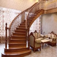 南京实木楼梯-华艺楼梯-立柱扶手3