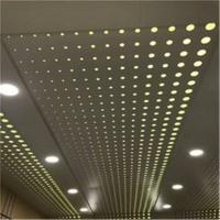 冲孔天花铝单板 氟碳铝板厂家 室内幕墙铝单板