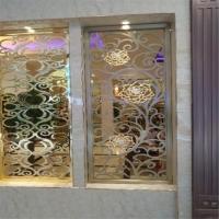 铝窗花厂家 工程中式铝窗花 焊接艺术 防盗窗