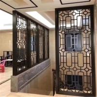 铝屏风-铝合金窗花屏风--广东德普龙品牌定制厂家
