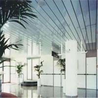 铝条扣 厂家直销工程铝条扣吊顶 室内吊顶长条形铝板