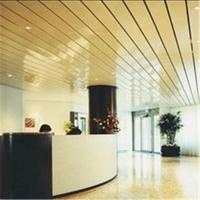 铝条扣 室内R型条扣天花吊顶 高边防风铝条扣幕墙天花定制