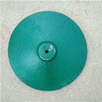 铸铁圆盘 警戒线隔离栏太阳伞圆形铸铁底座 广告牌标志牌配重底
