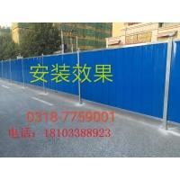 中国建筑施工彩钢、PVC围挡现货批发