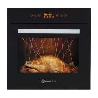 摩太mortir 意大利家用智能60L嵌入式电烤箱R030