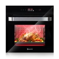 摩太mortir 意大利新款家用智能70L大容量嵌入式电烤箱