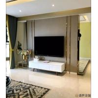 惠州市电视背景墙不锈钢装饰条