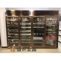 惠州市厂家定制 轻奢ins现代个性创意不锈钢红酒柜