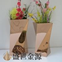 惠州定制不銹鋼異形花盆花瓶