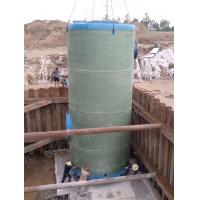 玻璃钢一体化泵站罐体直径3000mm价格