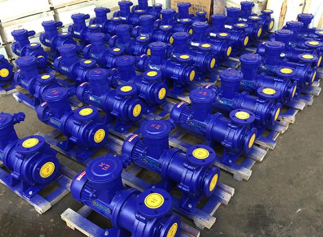 CQB-F氟塑料磁力驱动泵 无泄漏耐腐蚀防爆磁力泵 衬F46