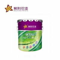 紫荆花竹炭抗甲醛净味五合一墙面漆白色涂料内墙彩色漆乳胶漆