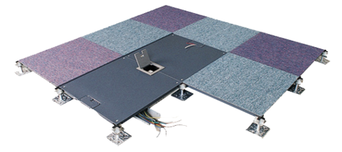 全钢型OA智能化高架地板