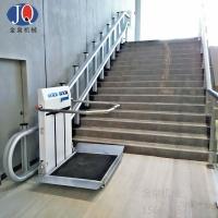 斜挂升降平台  无障碍轮椅斜挂升降机 斜挂式升降机